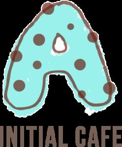 イニシャル アルファベット素材  チョコミント ベクターデータで無料でダウンロード