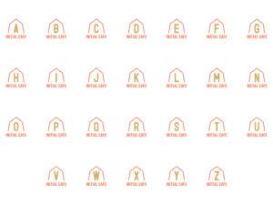 イニシャル アルファベット素材 AからZイメージ